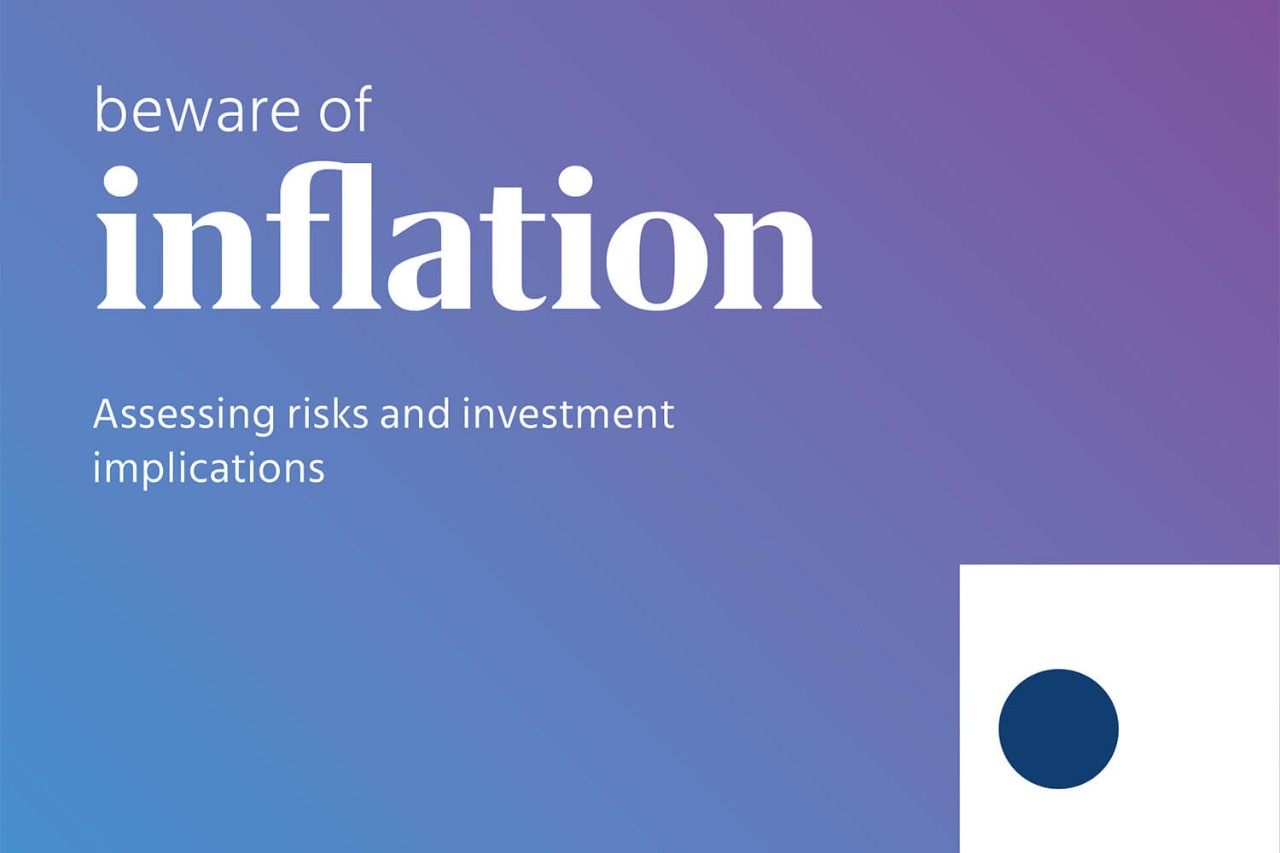 Beware of inflation