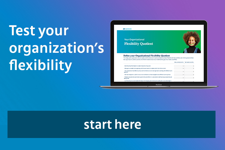 Test your organization's flexibility
