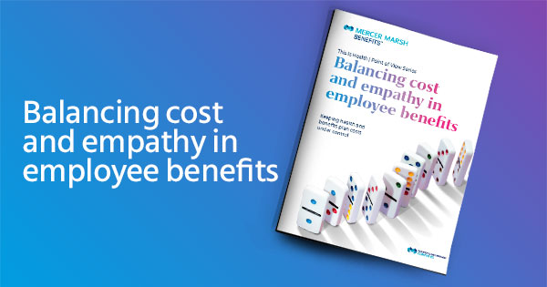 Balancing cost and empathy in employee benefits